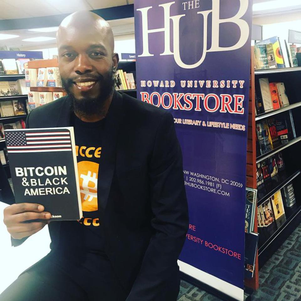 Isaiah Jackson on his Book Tour for 'Bitcoin And Black America' at Howard University.