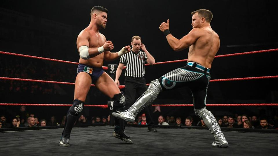 Jordan Devlin and Travis Banks have been implicated in assault and abuse allegations.