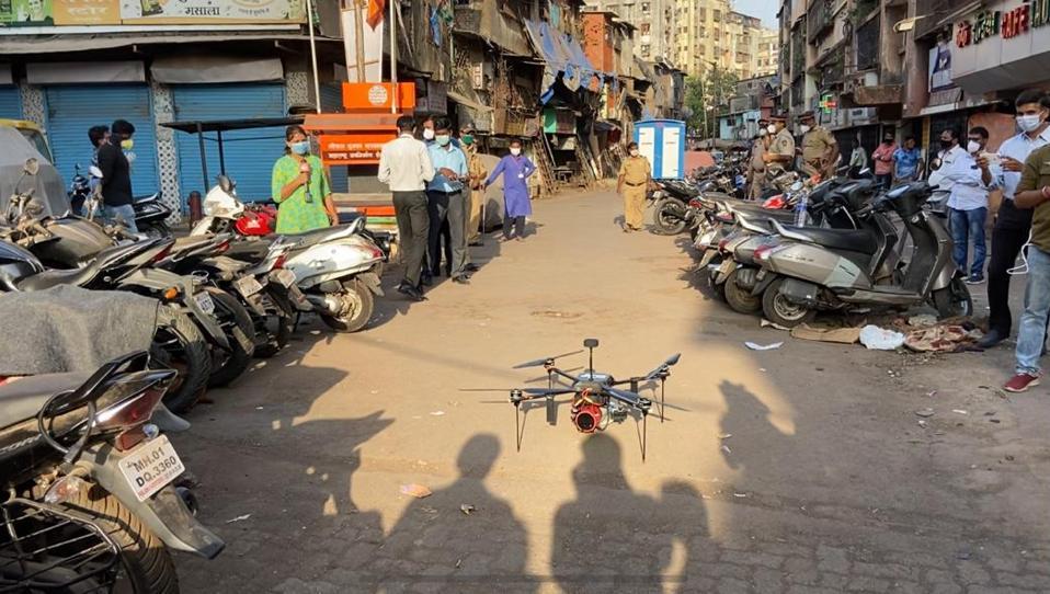 Drones produits par Sagar Defence Engineering