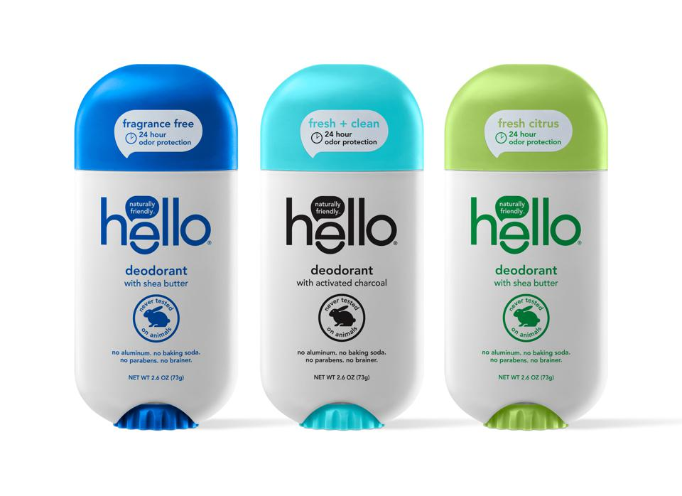 Hello Products new Natural Deodorant collection