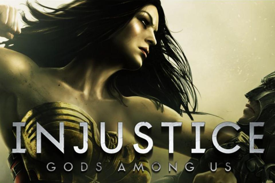 Injustice Gods Among Us free cover art