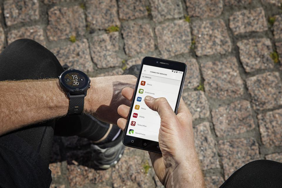 The Suunto7 GPS-connected smartwatch