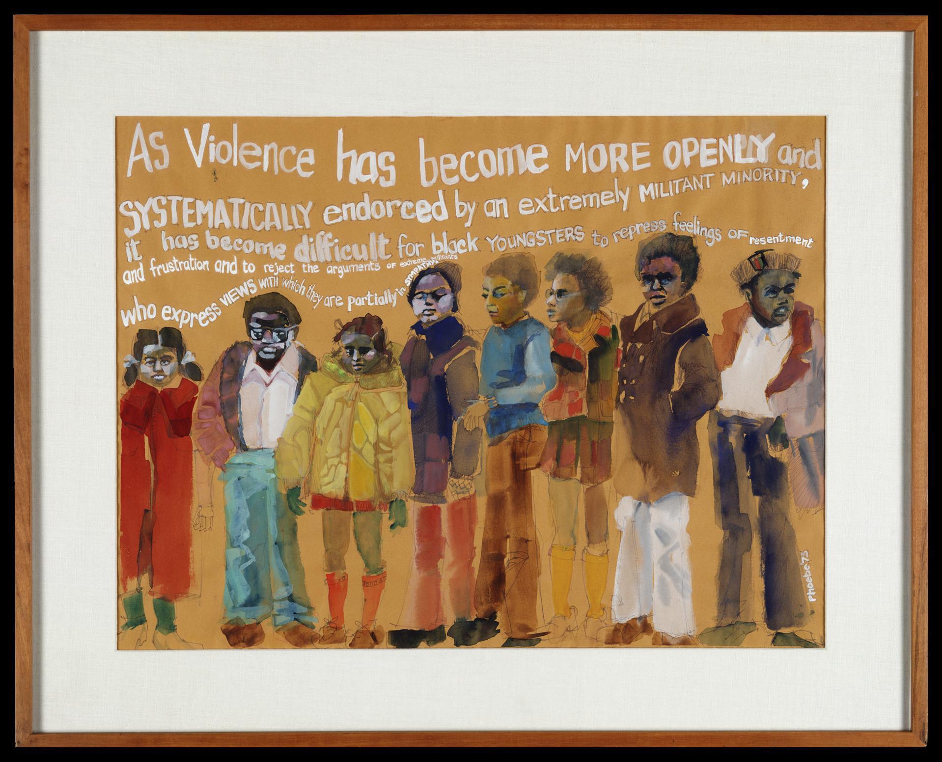 'As Violence' by Phoebe Beasley