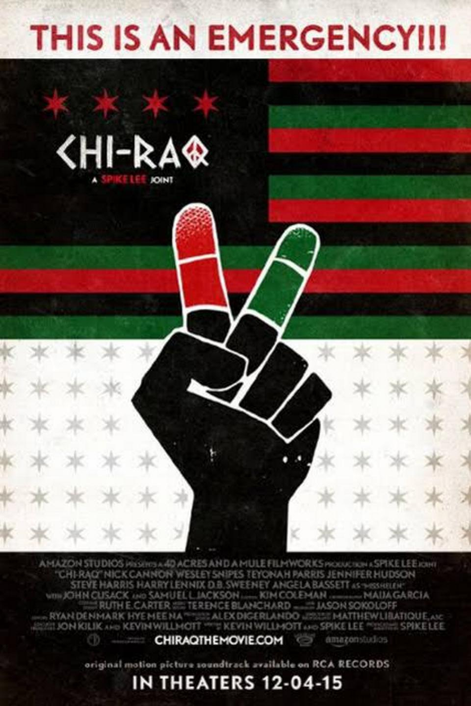 Official poster for ″Chi-Raq″