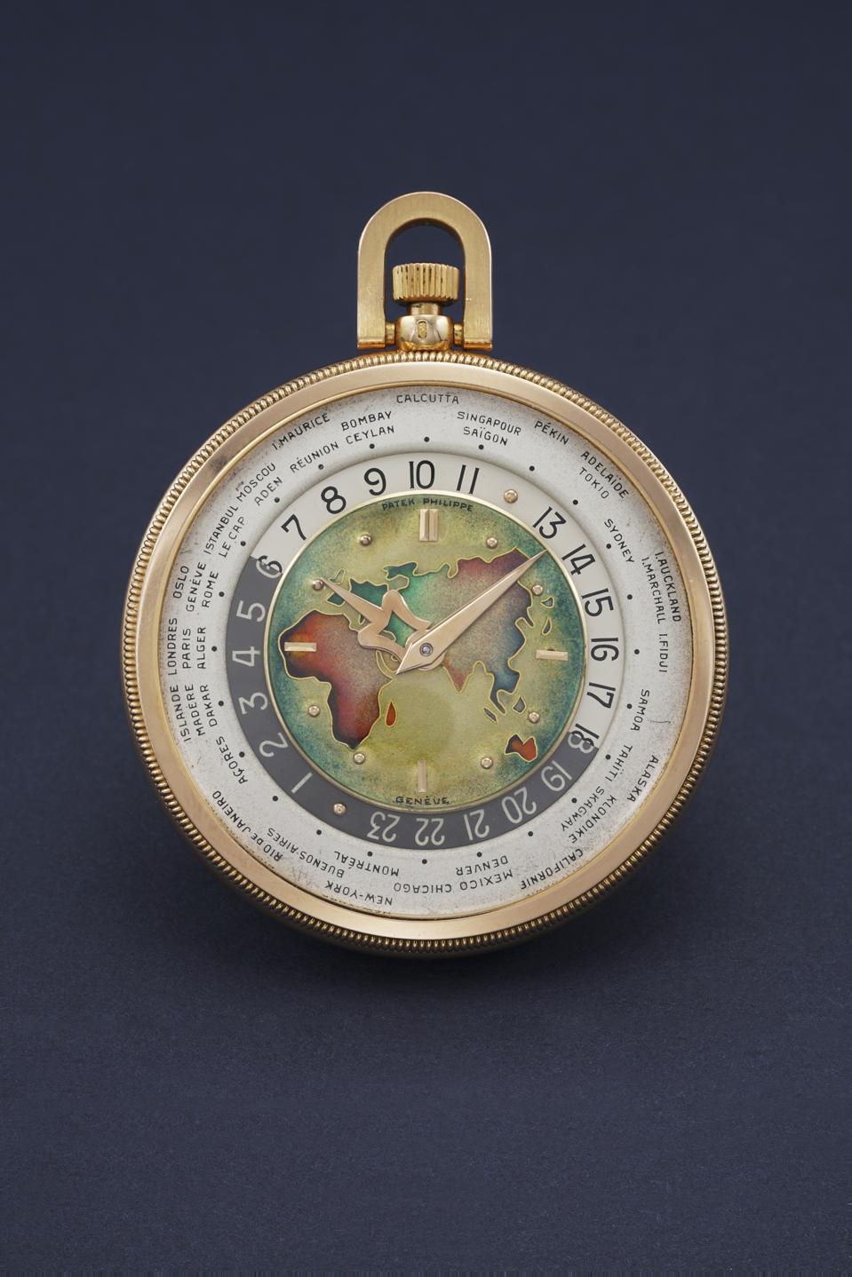 Patek Philippe 605 HU Pocket Watch sold for $1.2 million