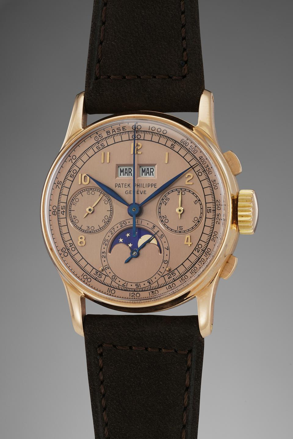 Patek Philippe 1518 perpetual calendar chronograph owned by Jean-Claude fetched $3.5 million