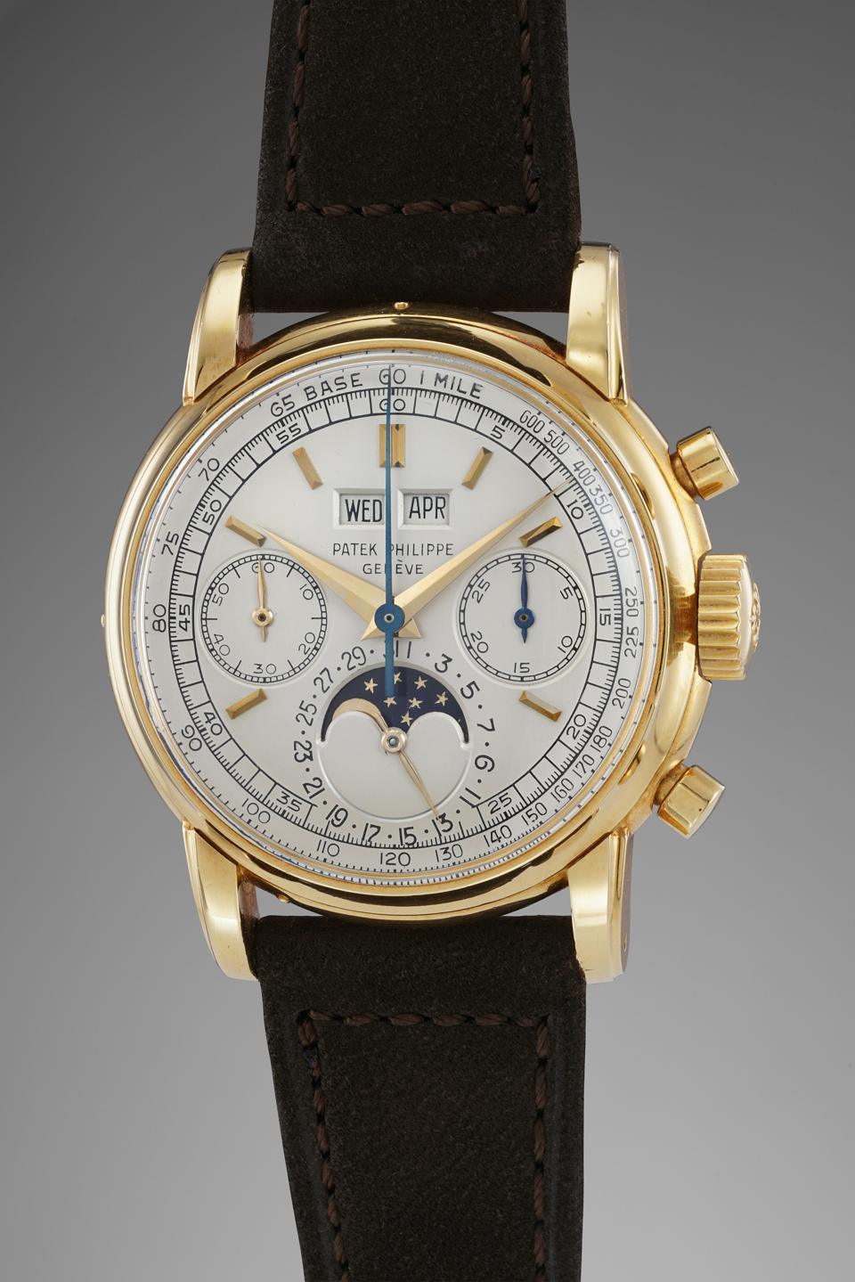Patek Philippe reference 2499 owned by Jean-Claude Biver sold for more than $2.7 million