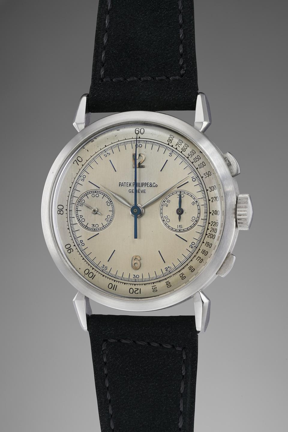 Patek Philippe 1579 in platinum owned by Jean-Claude Biver fetched $2 million