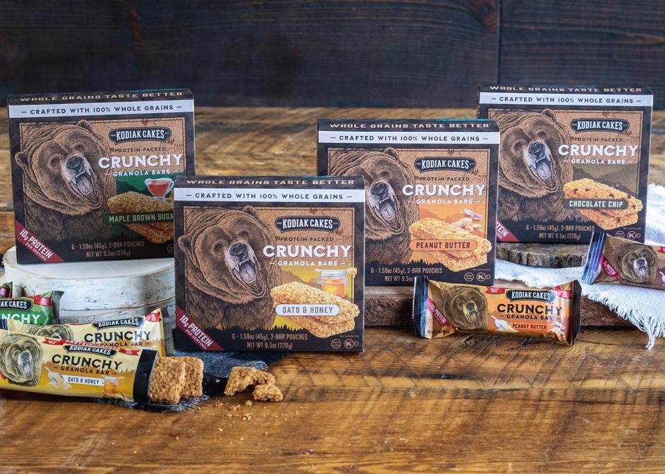 granola bars with bear