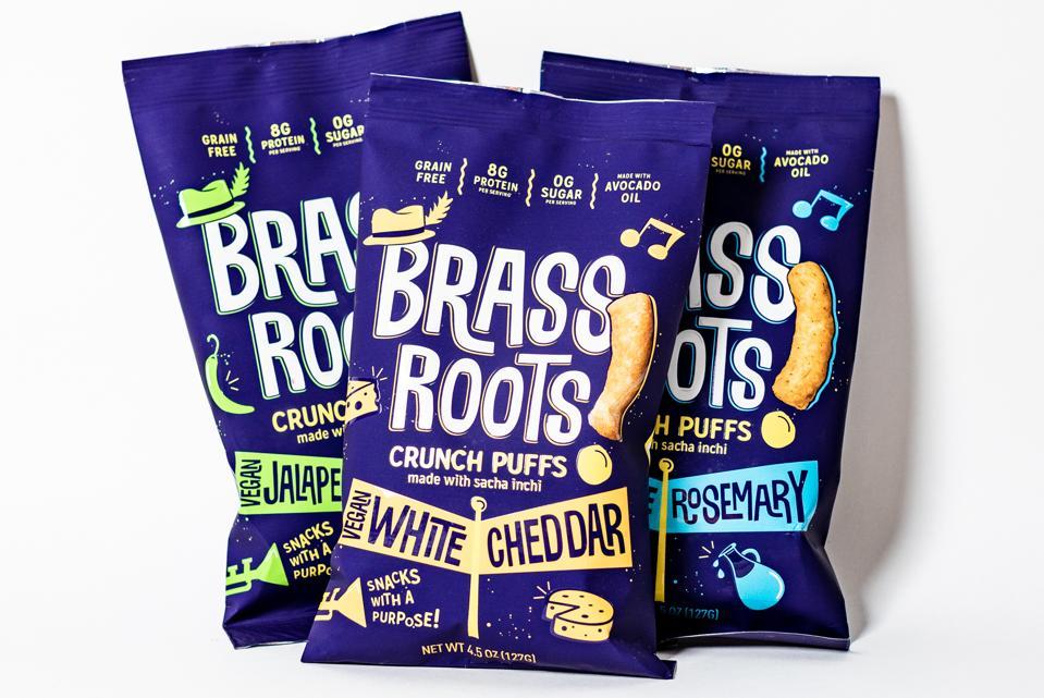 crunch puff snacks