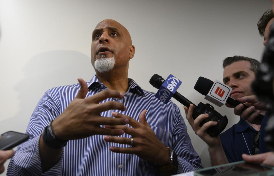 MLBPA executive director Tony Clark answers questions about Astros sign stealing scandal