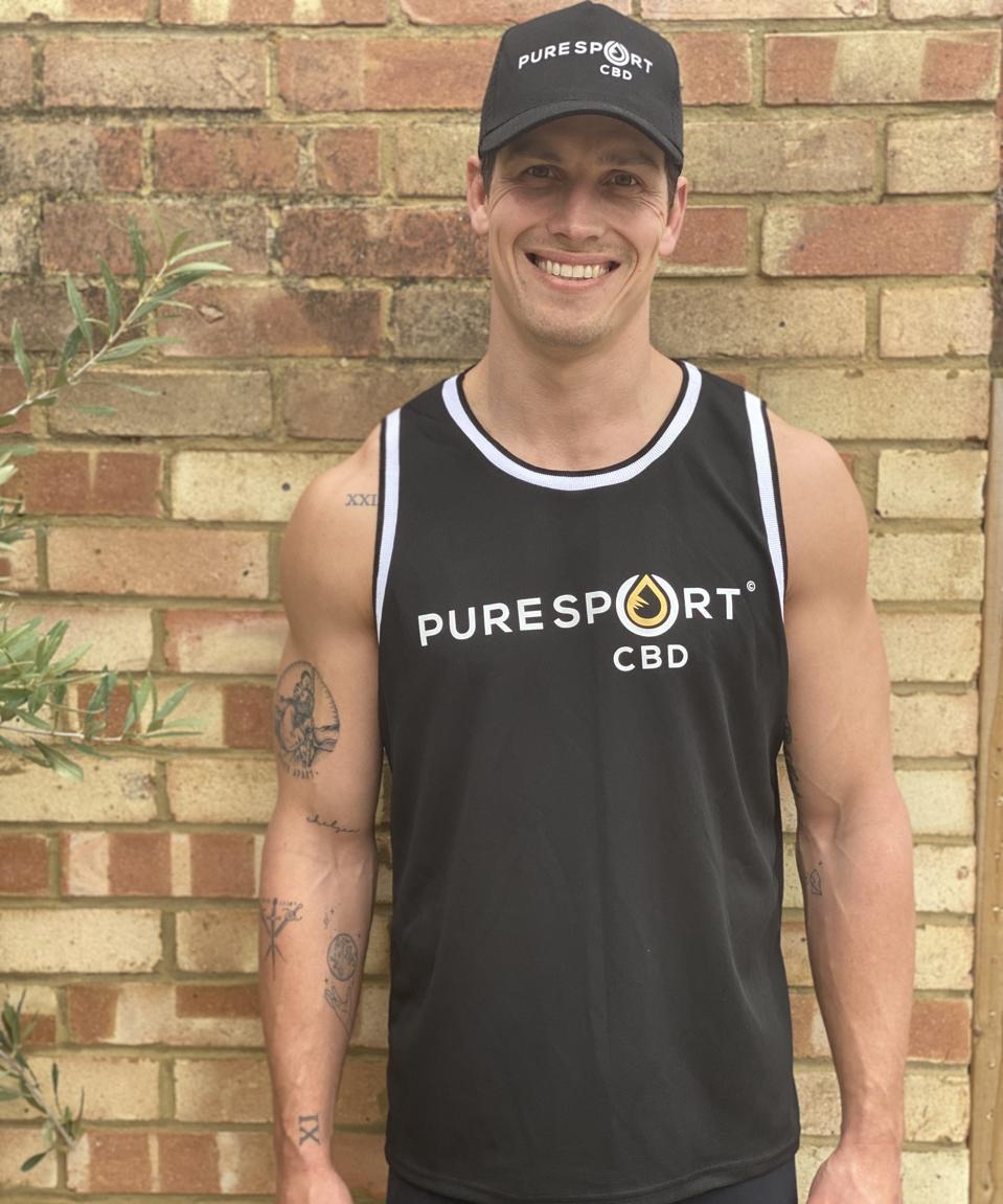 Grayson Hart, co-founder of Pure Sport CBD