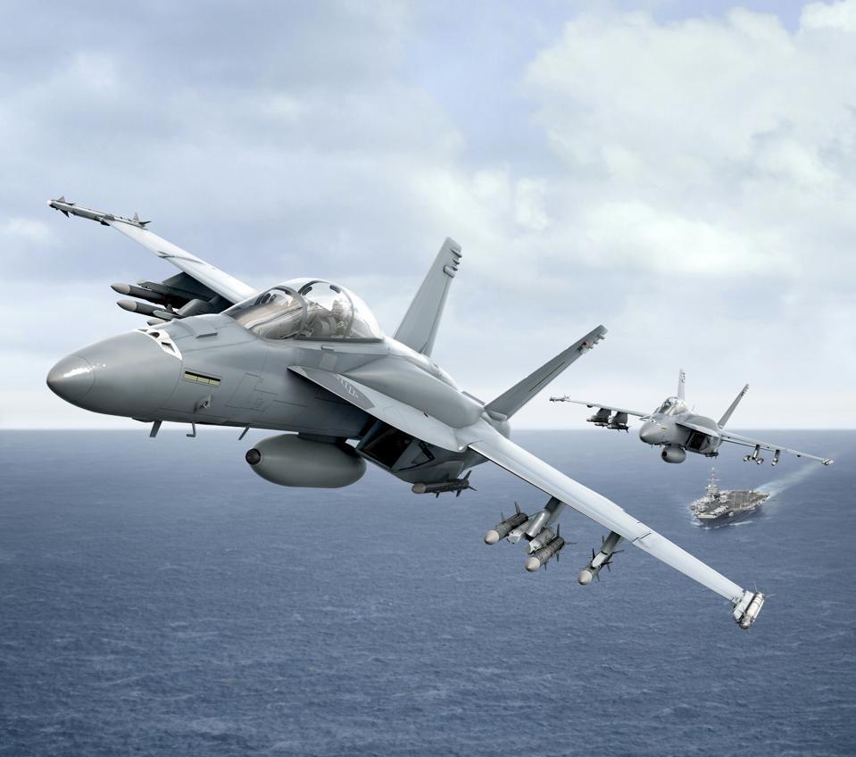 Block III Super Hornet IRST rendering.