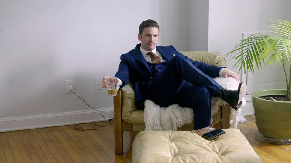 The white nationalist Richard Spencer in 'White Noise,' a new feature-length documentary from The Atlantic