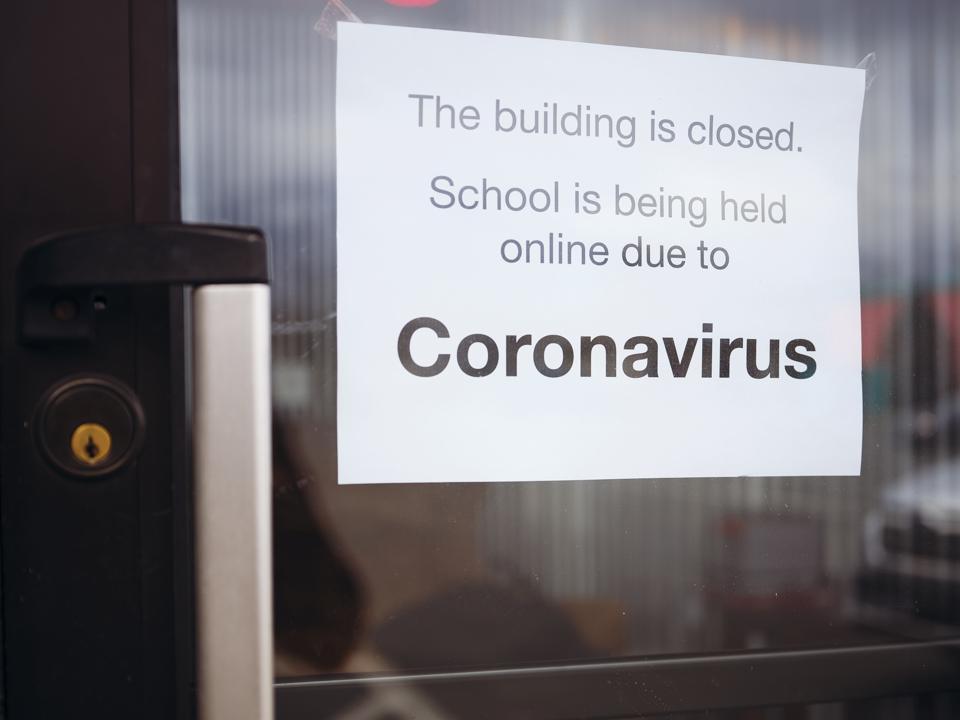 COVID-19 Coronavirus School Closed
