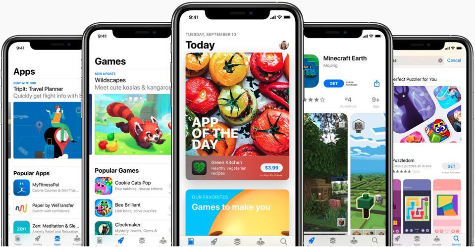 The iOS App Store