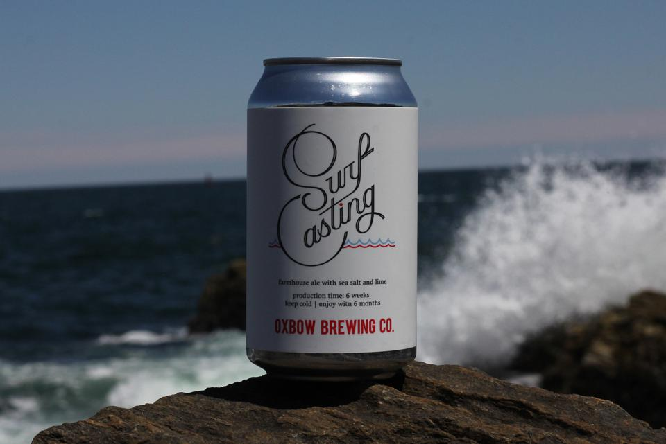 Surf Casting from Oxbow Brewing Co.