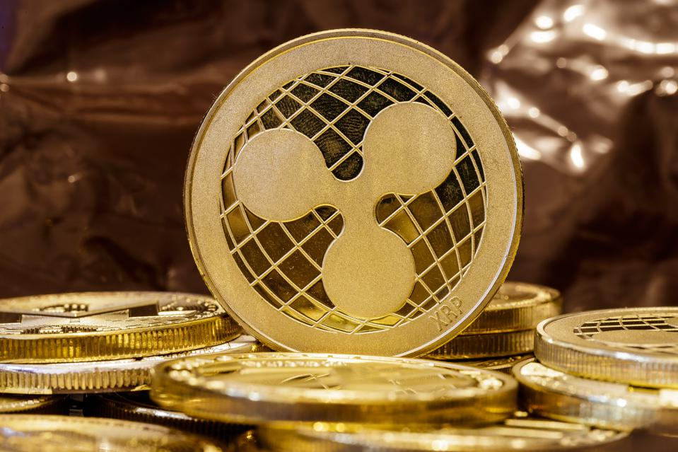 A visual representation of the digital Cryptocurrency XRP