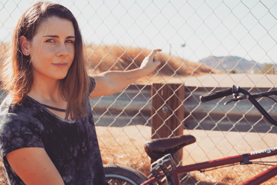 Mongoose women's BMX pro Nikita Ducarroz