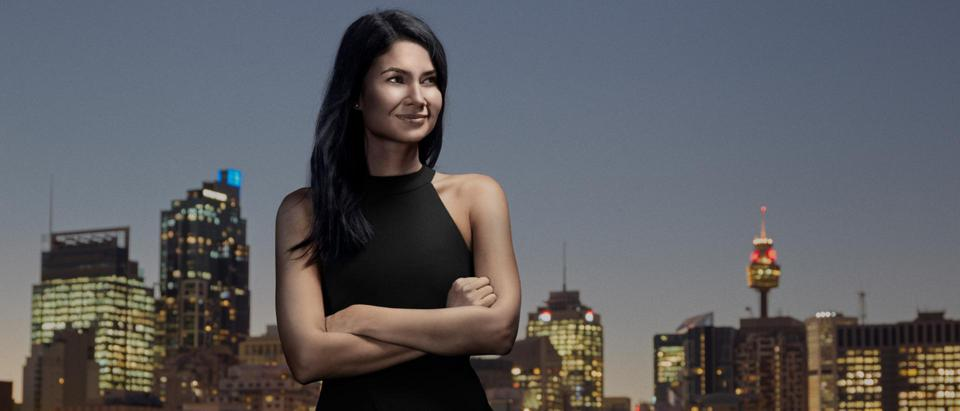 Canva CEO Melanie Perkins, seen here in Sydney, Australia.