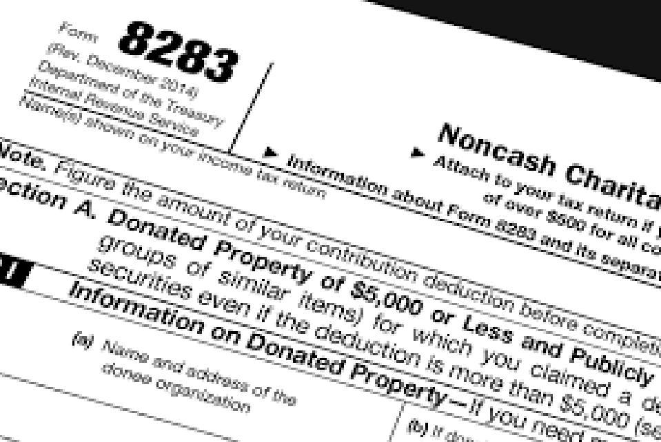 Formulir IRS 8283