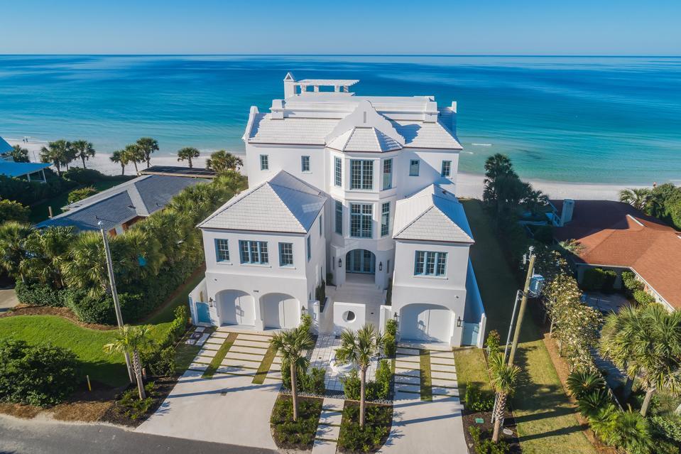 Huge beach home in Florida