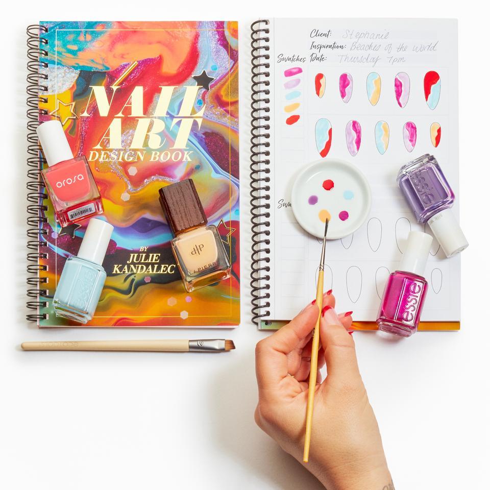 Nail Art Design Book by celebrity manicurist Julie Kandalec