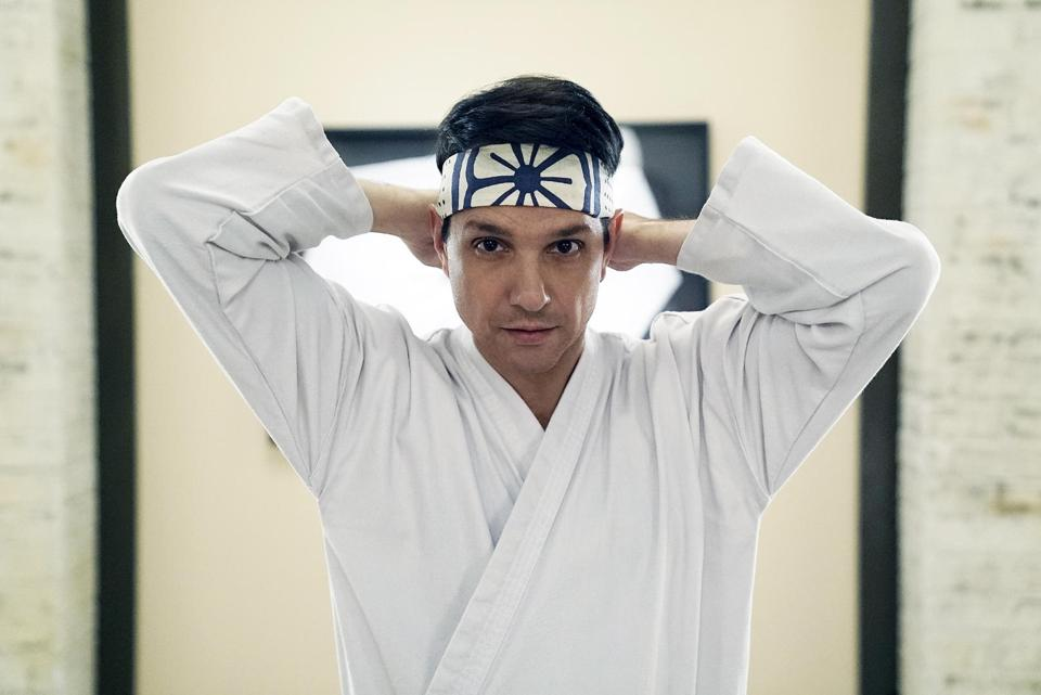 RalphDaniel Larusso headband: Jace Downs/YouTube Originals/Sony Pictures Television