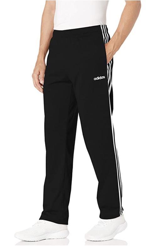 Adidas' Men's Essential 3-Stripes Tricot Pants