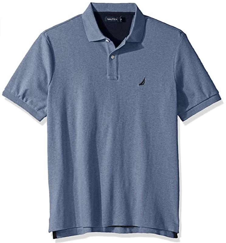 Nautica Men's Classic Fit Short Sleeve Polo Shirt