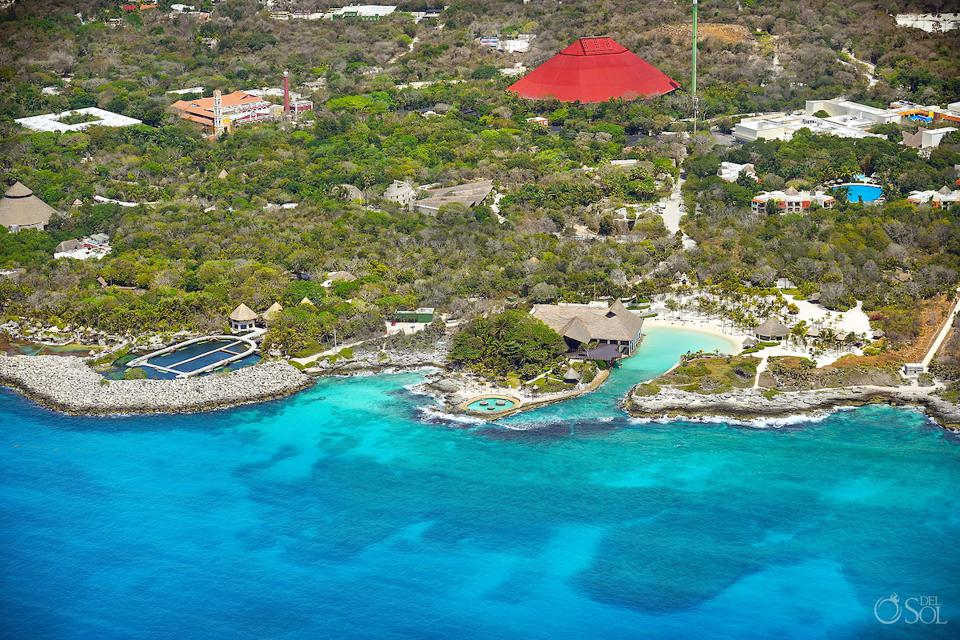 Xcaret Park without tourists during the quarantine