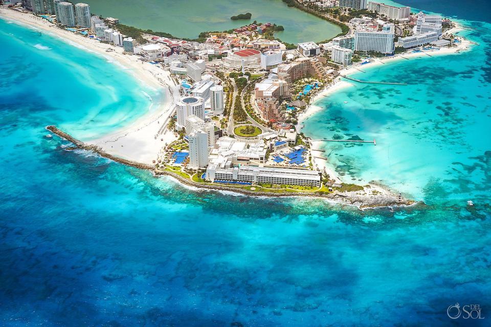 Hyatt Ziva in the Cancun hotel zone during the quarantine