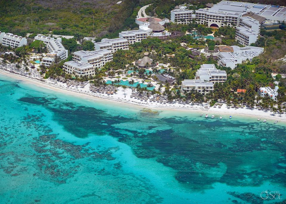 Secrets Akumal, a popular all-inclusive adults-only hotel in Akumal Bay, Quintana Roo, Mexico