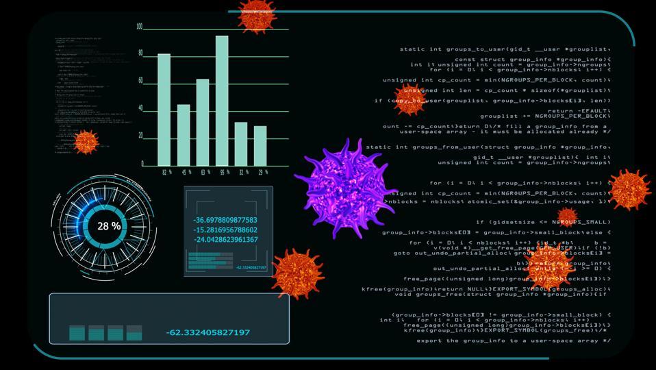 Information dashboard on Covid-19