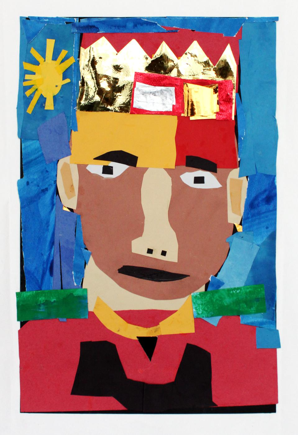 Art created by one of the students at PS 200, to be shared in the virtual exhibition