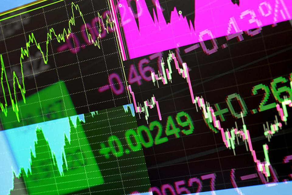 Abstract stock exchange