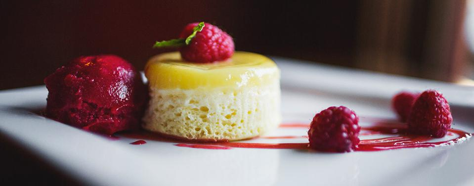Scrumptious desserts can be had at the Red Pony.