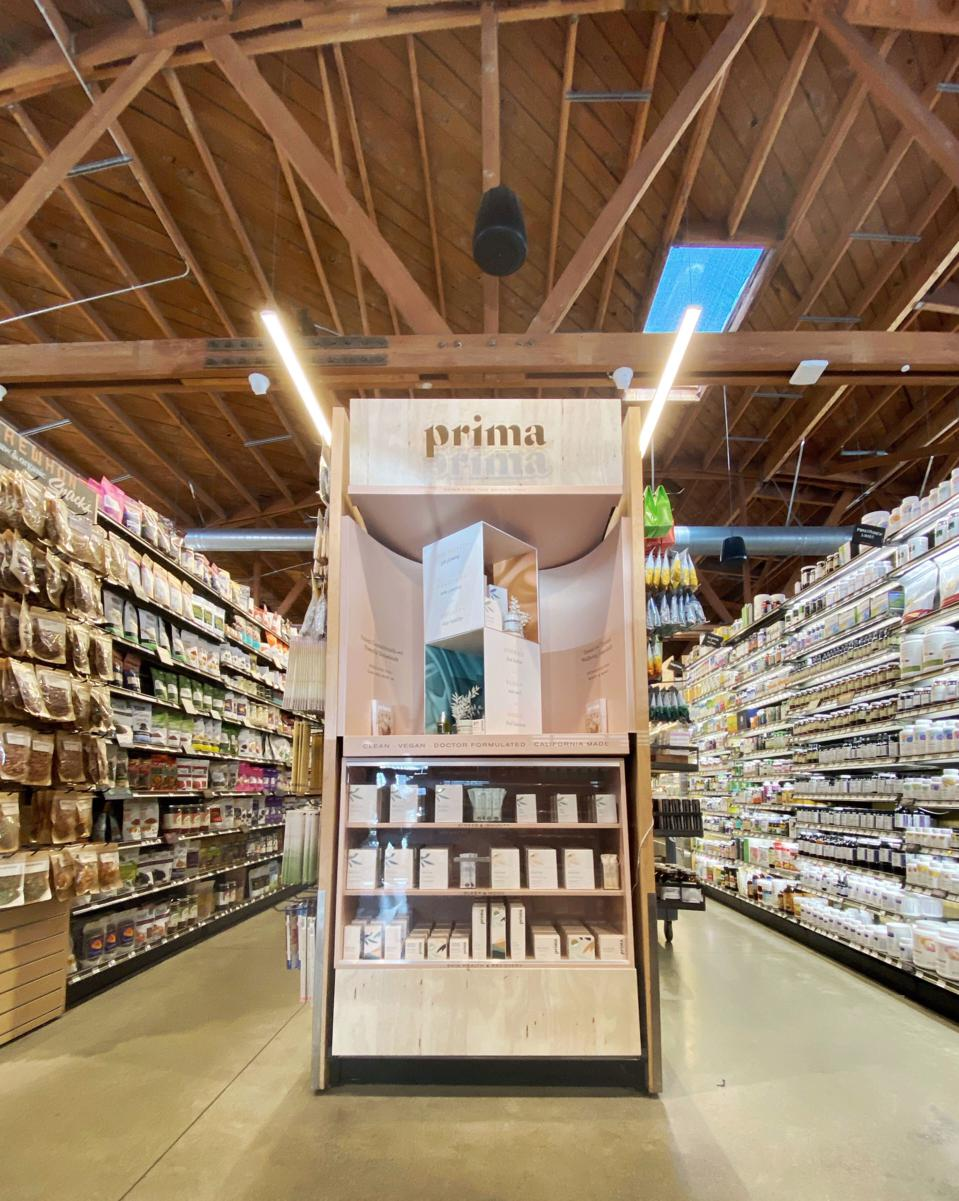 Erewhon Market, CBD beauty, CBD skincare, Prima, Christopher Gavigan, cannabis wellness