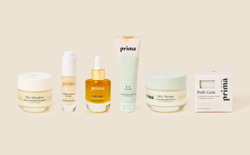 Sephora, Prima, CBD beauty, CBD skincare, CBD wellness, cannabis wellness