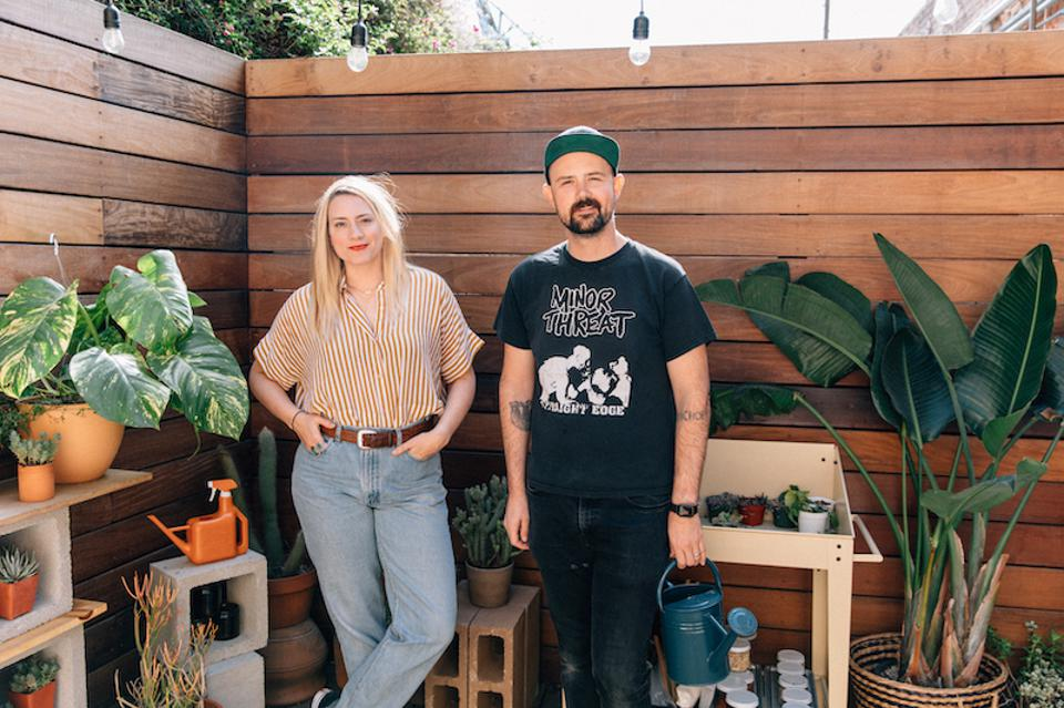 Owners and Creative Forces Behind P.F. Candle Company