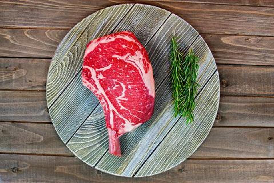 Meat n' Bone Bone-In Ribeye (Cowboy Steak) 45+ Days Dry Aged