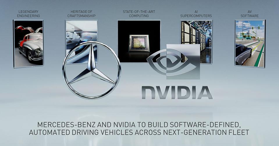 NVIDIA And Mercedes-Benz Partner In Autonomous Vehicle Development