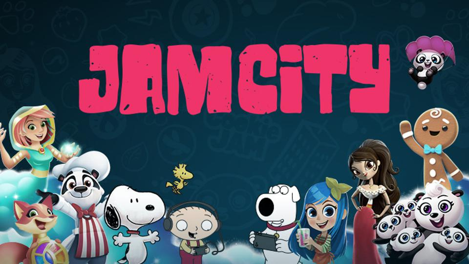 Jam City's different games and logo