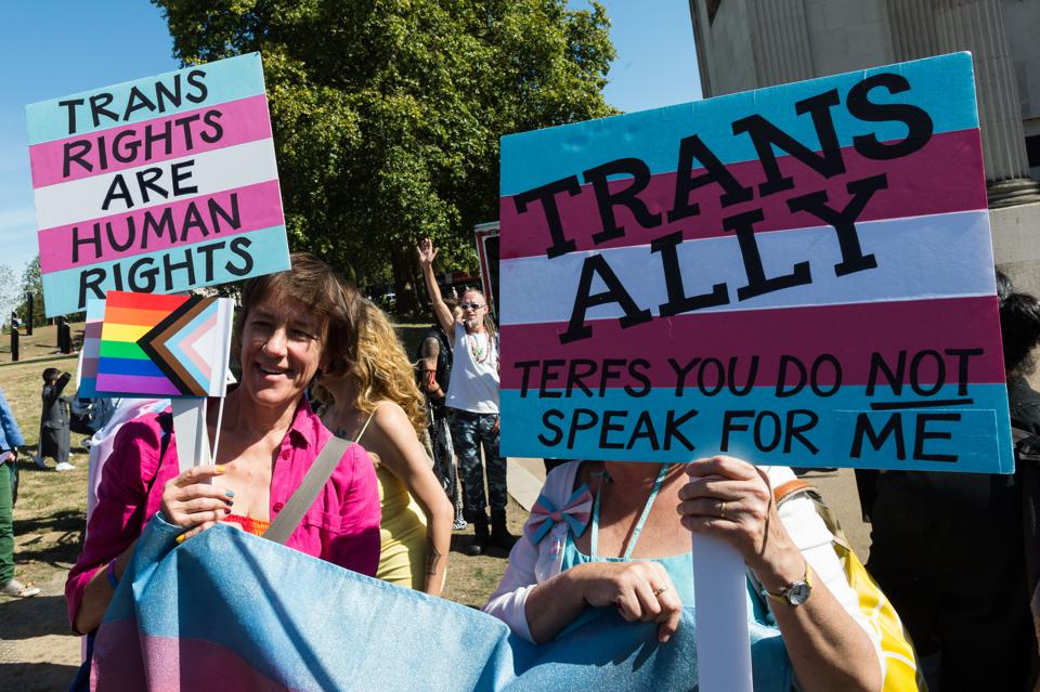 London Trans Pride 2019, trans rights, terf, j.k. rowling,