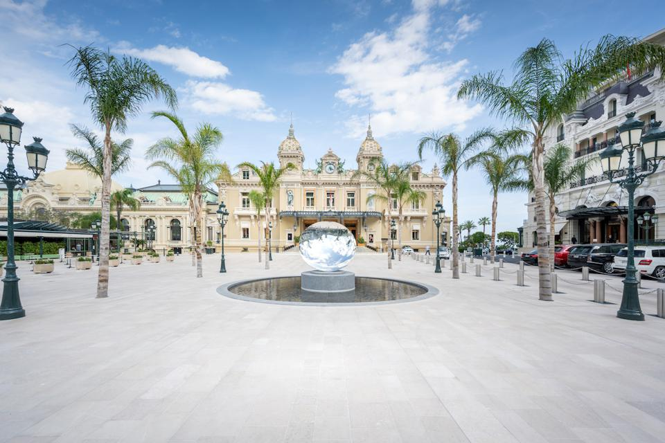 Pandemic Photography: Monte Carlo's Casino Square