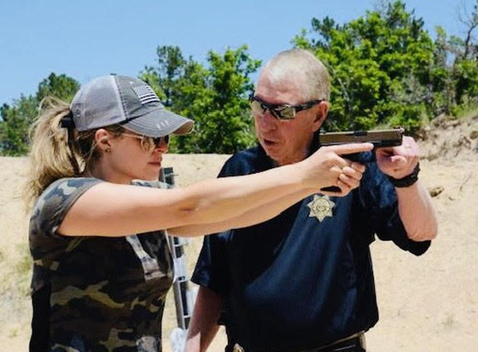Firearms instructor Dan Predovich
