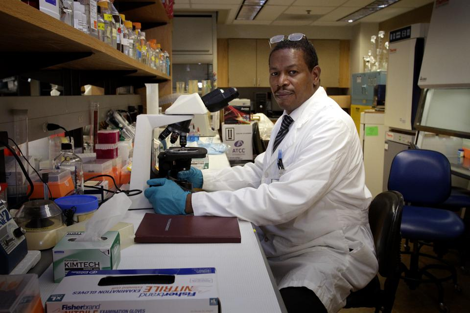 Meharry Medical College's Dr. Donald Alcendor