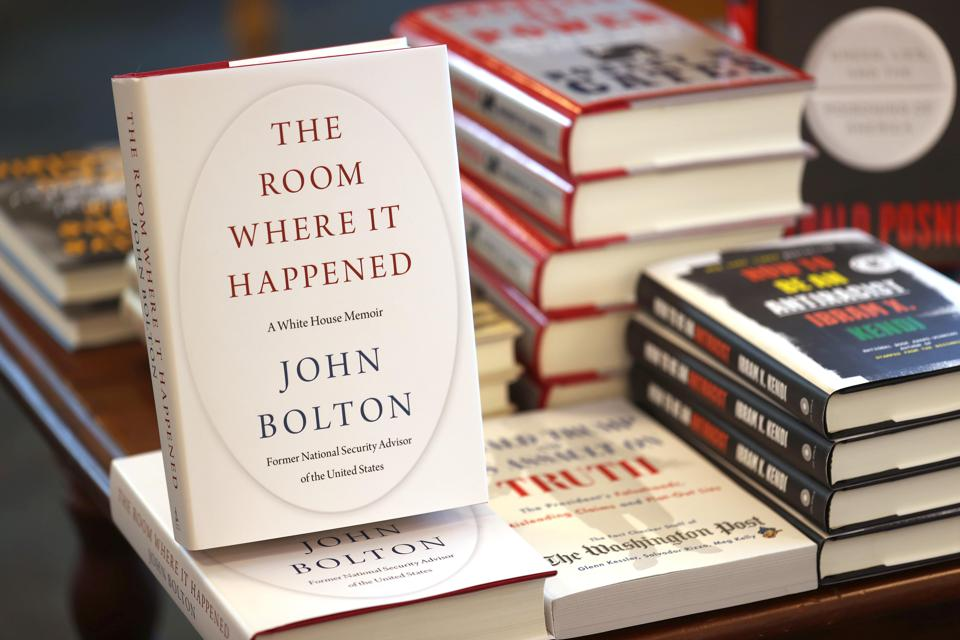 The new book 'The Room Where It Happened' by John Bolton