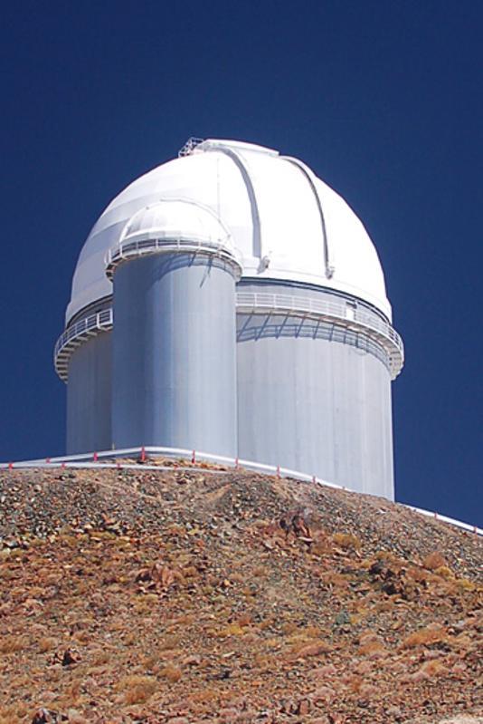 The ESO 3.6-metre telescope at ESO's La Silla observatory