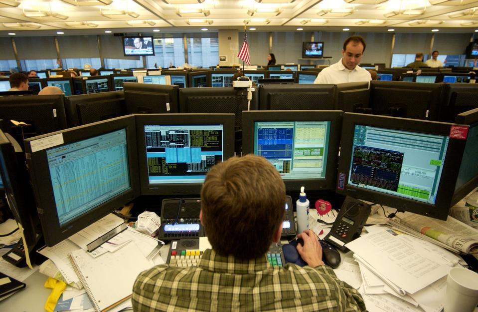 JPMorgan TRADING FLOOR